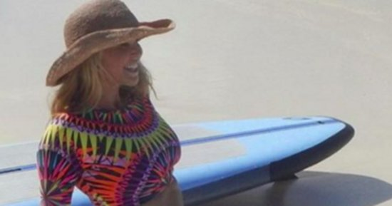 Christie Brinkley Wows In Bikini While On Vacation In Turks And Caicos