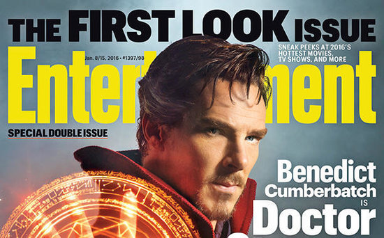 FROM EW: Benedict Cumberbatch Casts a Spell as Doctor Strange