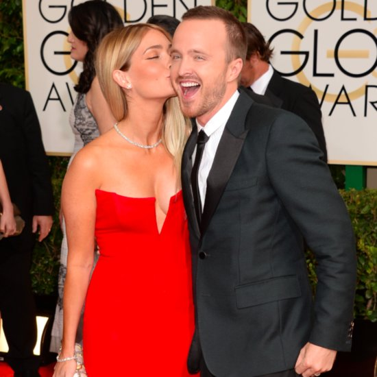 Aaron Paul and Lauren Parsekian's Cute Instagram Pictures