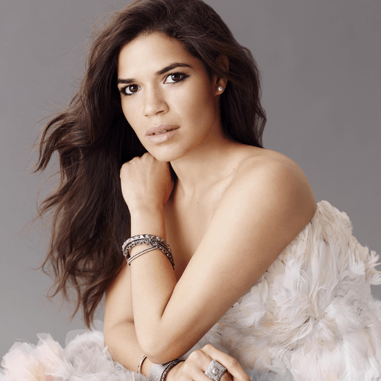 America Ferrera on February 2016 Cover of Latina Magazine