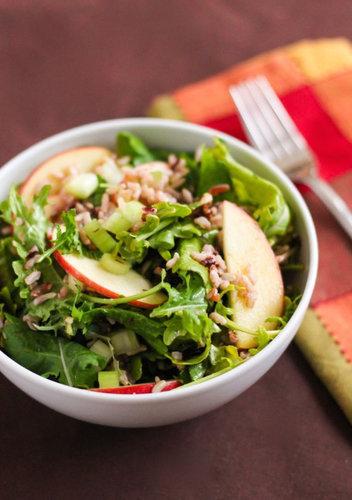 Cranberry Walnut Wild Rice Salad - Eat Spin Run Repeat