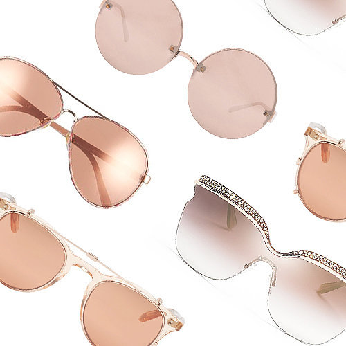Shop Rose Gold Sunglasses