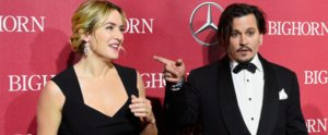 Johnny Depp and Kate Winslet Have an Incredibly Charming Red Carpet Reunion