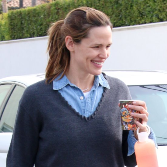 Jennifer Garner Smiling in LA January 2016