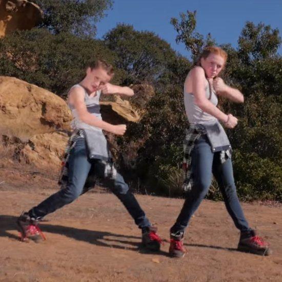 Fraternal Twin Girls Dancing to Fetty Wap