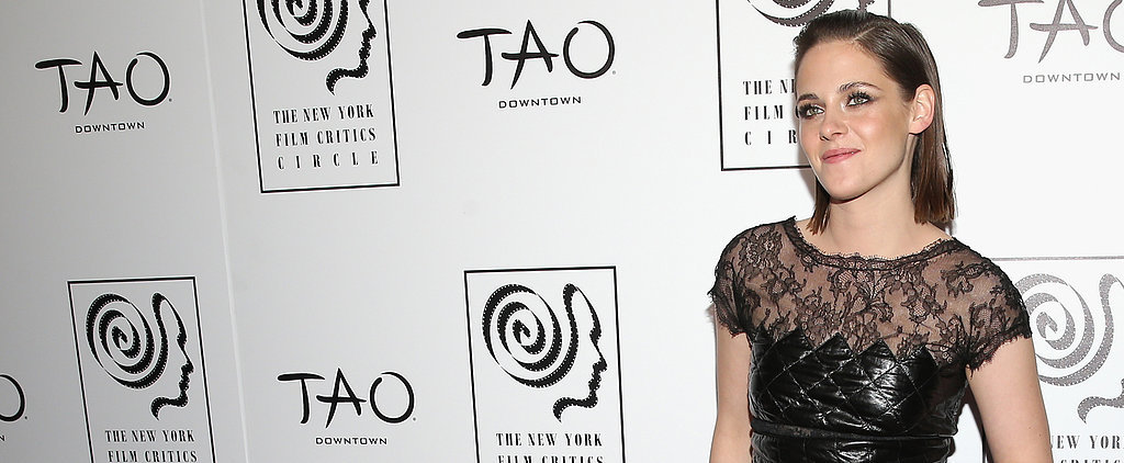 Kristen Stewart Rules the Red Carpet in Lace and Leather