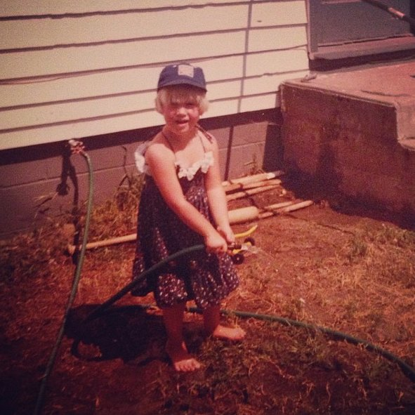 """""""I've obviously been dressing myself for a very long time. Don't be afraid to take risks people. #getyouryardworkon #tbt"""""""