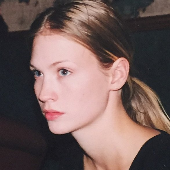 """My Carolyn Bessett-Kennedy phase, 1997. #nomakeupandalotofpoeticangst"""
