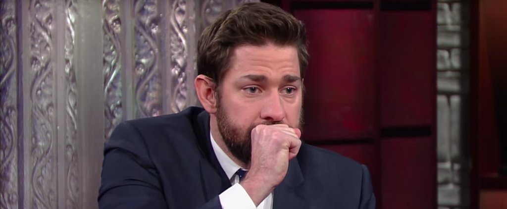John Krasinski Fake Vomiting Will Make Your Stomach Hurt From Laughing