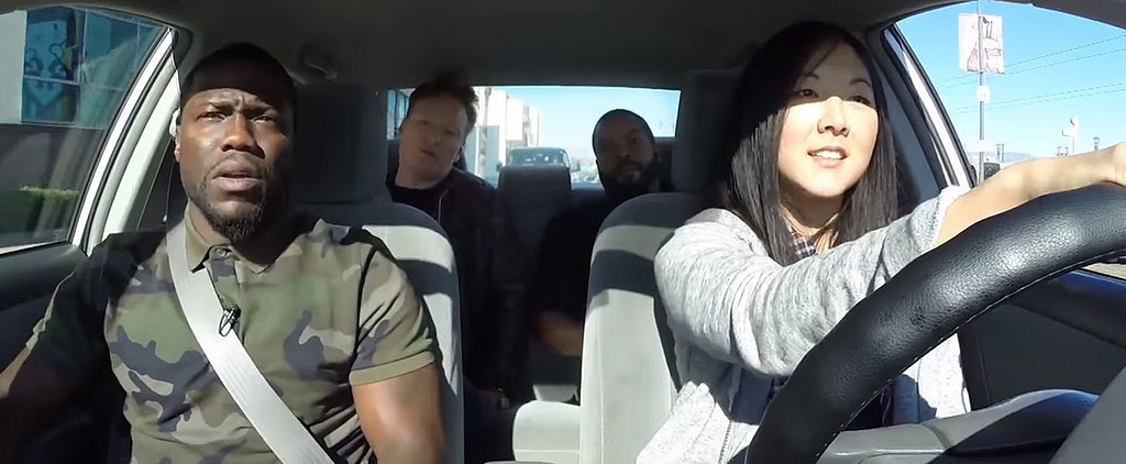 Kevin Hart, Ice Cube, and Conan O'Brien Smoke Weed and Dodge Cops While Driving Around LA