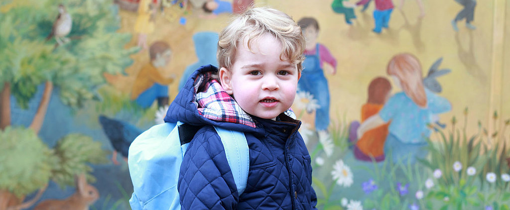 Prince George Starts Preschool — See the Adorable Photos From His First Day!