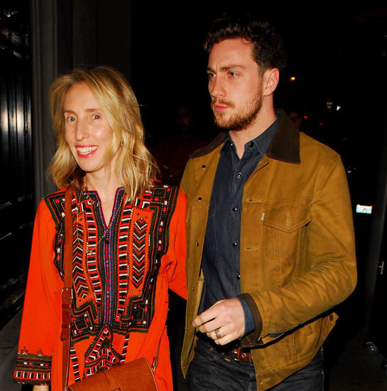 Sam and Aaron Taylor-Johnson out for dinner in Los Angeles
