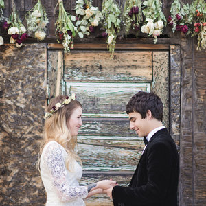 Rustic New Mexico Wedding