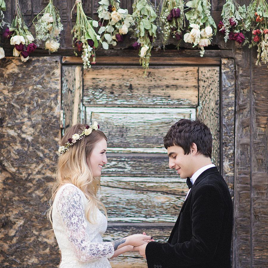 Rustic Mexican Wedding: Rustic New Mexico Wedding