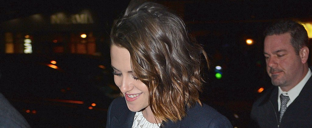 Kristen Stewart Can't Stop Smiling During Her NYC Outing With Nicholas Hoult