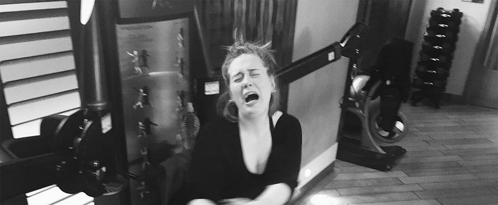 Did Today's Workout Make You Want to Cry? Adele Can Relate