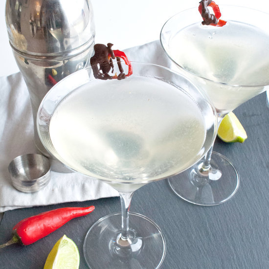 Chili-Infused Martini