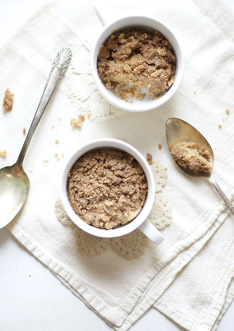 Coffeecake Mug Cake