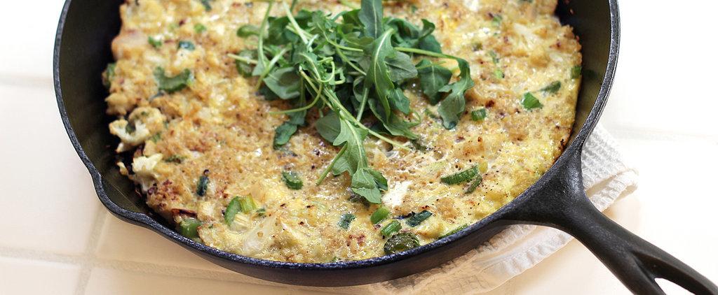 Clean Eating Couldn't Be Tastier: Quinoa-Cauliflower Frittata