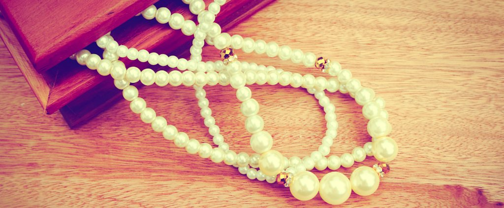 This DIY Pearl Necklace Will Make You the Belle of Your Wedding Day