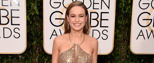 Emma Stone Gave Brie Larson a Hilarious Pep Talk Before the Golden Globes