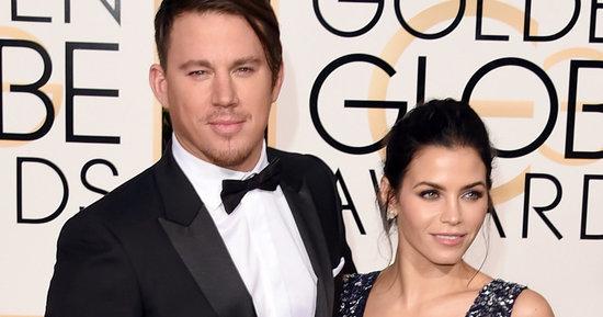 Channing Tatum And Jenna Dewan Tatum Slay On The Golden Globes Red Carpet