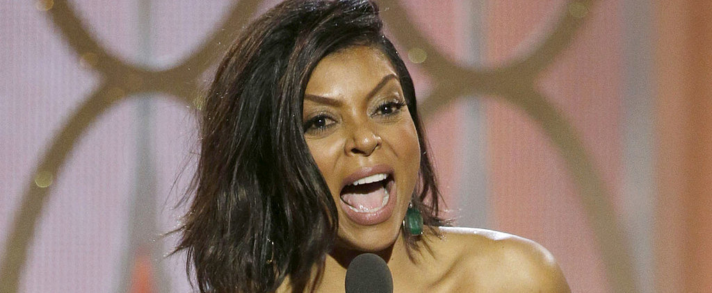 Taraji P. Henson Passed Out Cookies During Her Hilarious Golden Globes Acceptance Speech