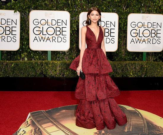 Zendaya in Marchesa at the 2016 Golden Globes