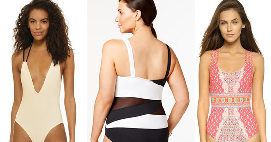 The Most Flattering One-Piece Bathing Suits For Every Body