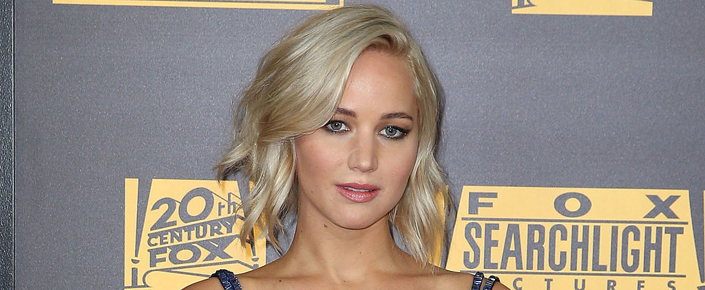 Jennifer Lawrence Literally Sparkles at a Golden Globes After-Party