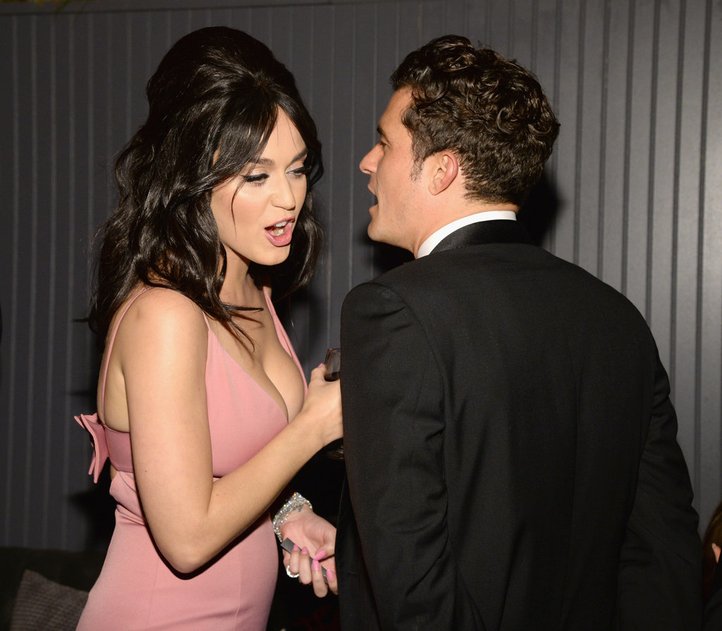 Katy Perry and Orlando Bloom Party Together — and Leave Together — on Globes Night
