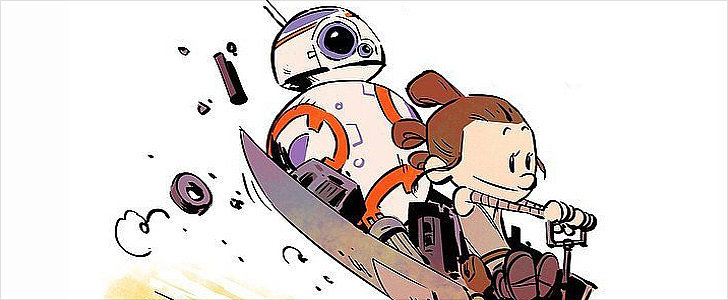 These Star Wars-Calvin and Hobbes Illustrations Are Simply Adorable