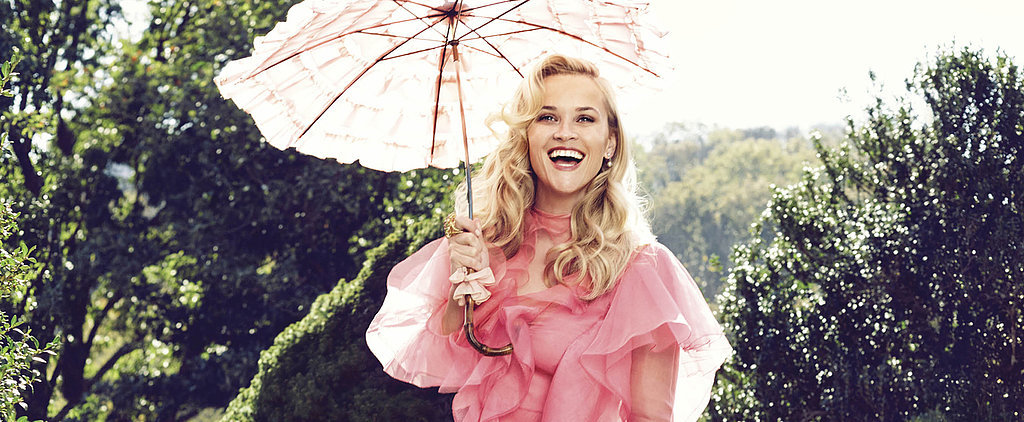 Reese Witherspoon Pulls the Ultimate Fashion Designer Move For Her Harper's Bazaar US Cover