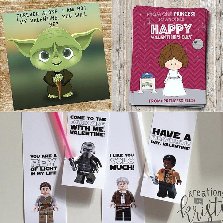 Valentines Day Box Ideas Bb8   Star Wars Kids Valentine S Day Cards