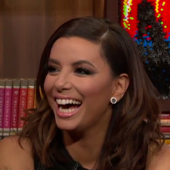 Eva Longoria Wedding Details on Watch What Happens Live 2016