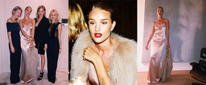 Rosie Huntington-Whiteley Just Convinced Us to Buy a Nude Slip Dress