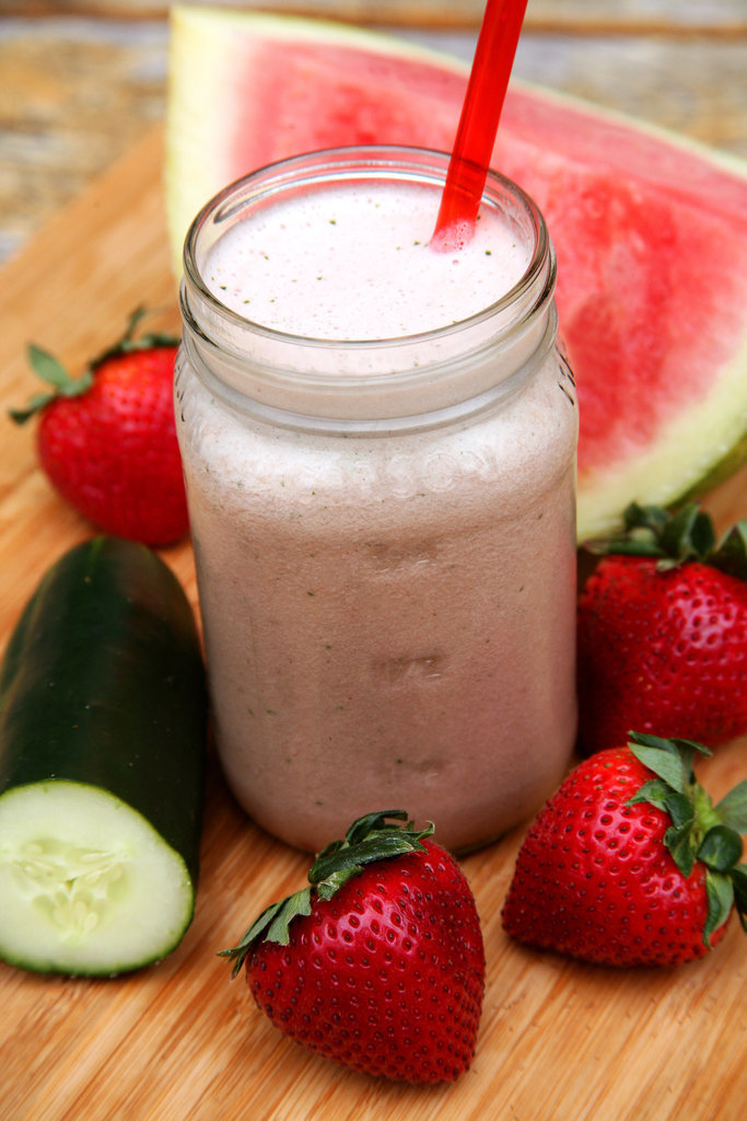 Strawberry-Watermelon Hydrating Smoothie