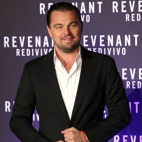 Leonardo DiCaprio at The Revenant Rome Premiere 2016