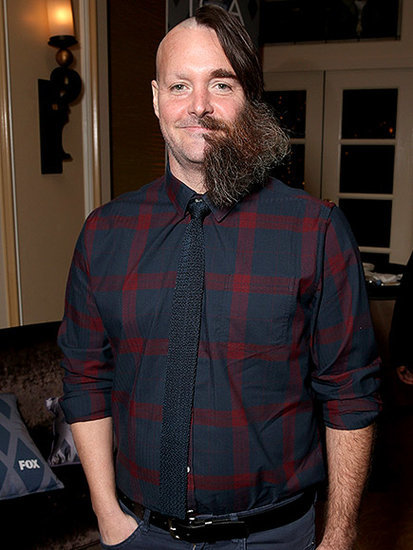 Will Forte Debuts Half-Shaved Face at FOX All-Star Party and It Is Seriously Insane