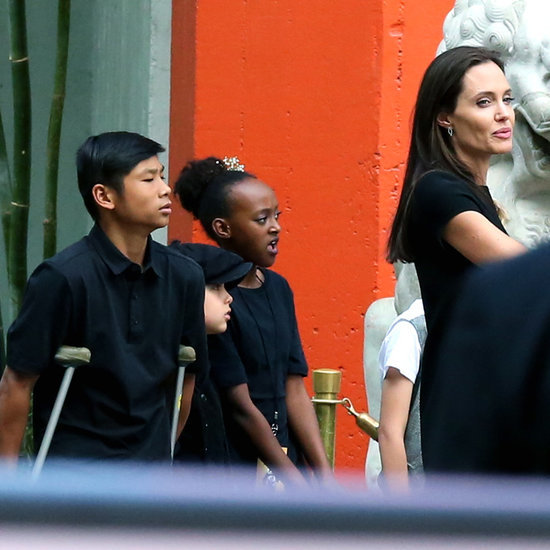 Angelina Jolie and Her Kids at Kung Fu Panda 3 LA Premiere