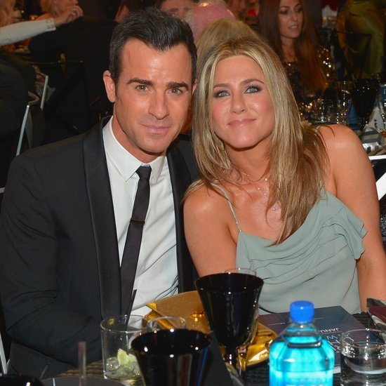 Jennifer Aniston and Justin Theroux at Critics' Choice 2016