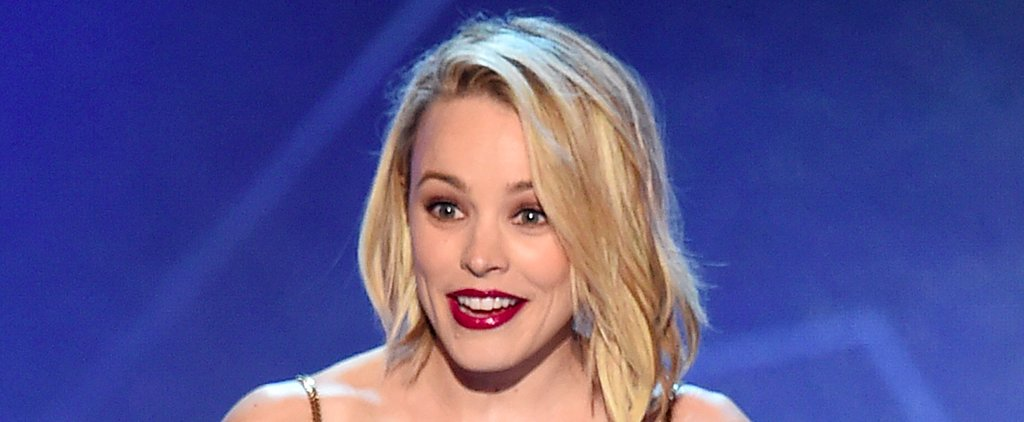 Rachel McAdams Is Adorably Nervous Accepting the Critics' Choice Award For Spotlight