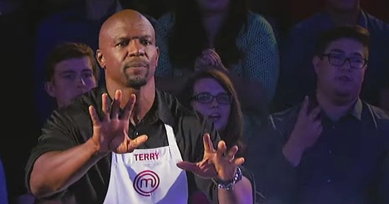 Terry Crews Offers Cooking Tips Before Scary Accident on 'MasterChef Celebrity Showdown': Watch
