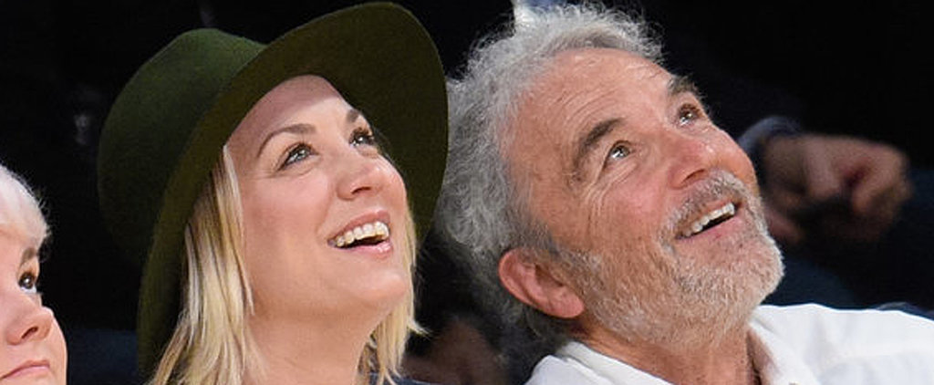 Kaley Cuoco Has the Cutest Father-Daughter Date at the LA Lakers Game