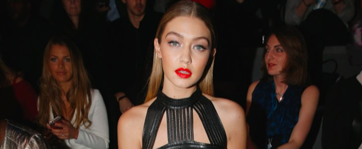 Gigi Hadid's Sexy Black Dress Is a Next-Level Party Look