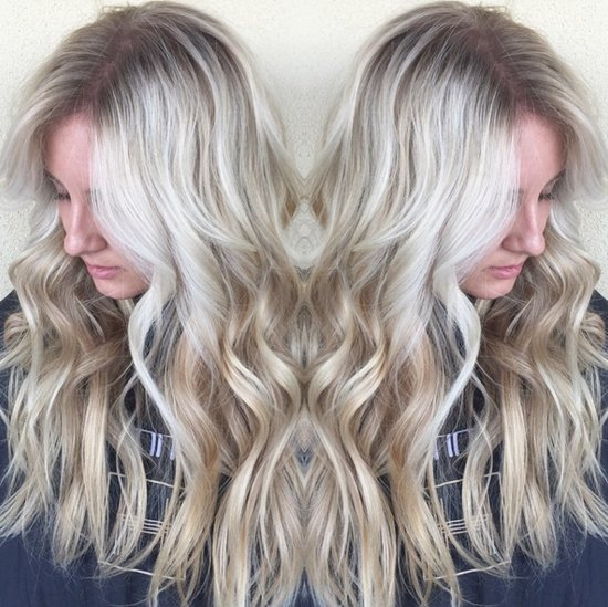 Snowlights Hair Color Trend