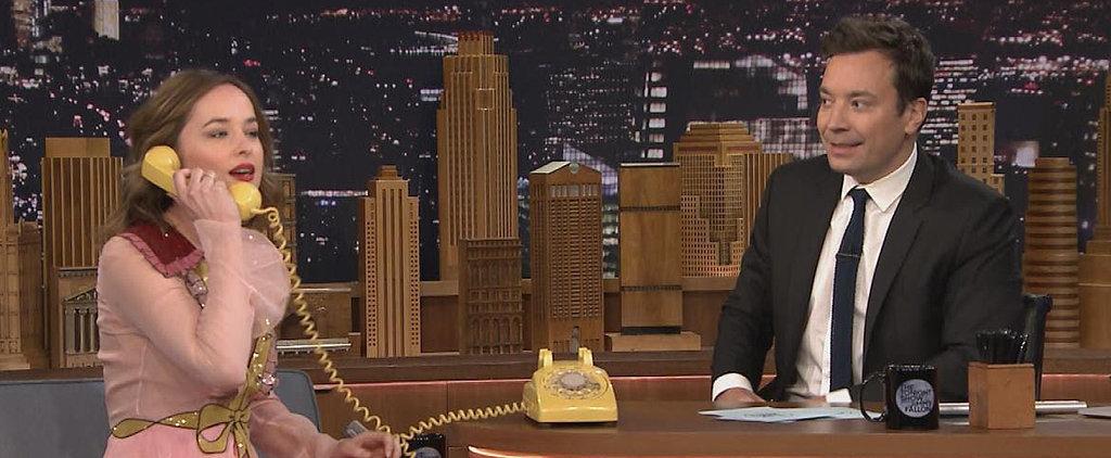 Dakota Johnson Drops the F-Bomb While Cursing at Darth Vader on The Tonight Show