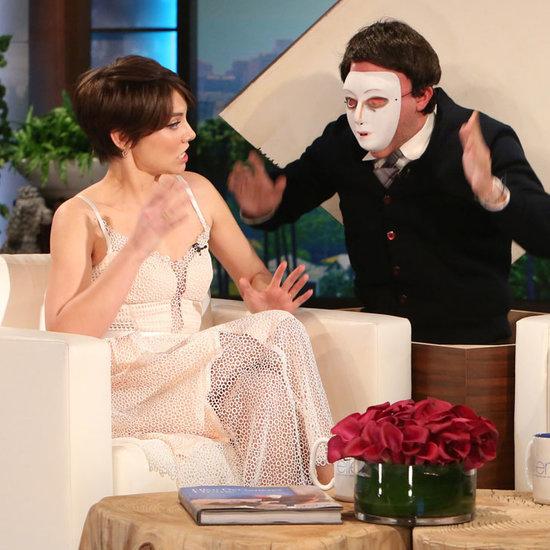 Lauren Cohan Gets Pranked on Ellen DeGeneres