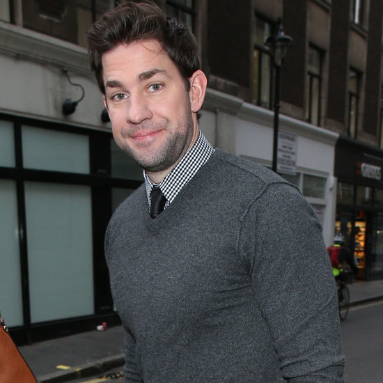 John Krasinski London Pictures January 2016