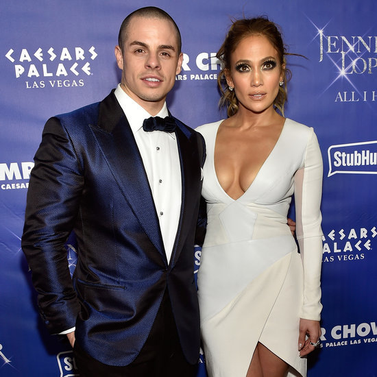 Jennifer Lopez and Casper Smart at All I Have Afterparty